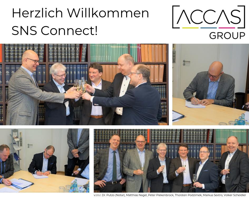 Die ACCAS-Group wächst!